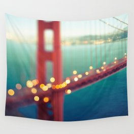 Meet Me In San Francisco Wall Tapestry