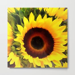 Sunflower 16 Metal Print