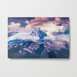 Magnificent Mountain View Metal Print