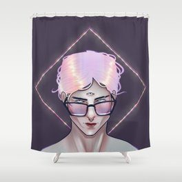 The Portent of Prodigy Shower Curtain