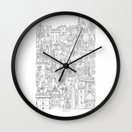 Edinburgh, Scotland Wall Clock