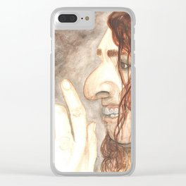 Oh, Tiny! Clear iPhone Case
