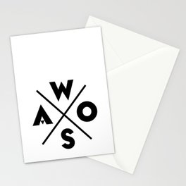 WOSA - World of Street Art Stationery Cards