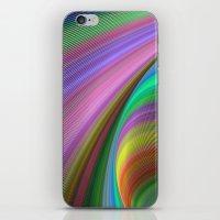 matty healy iPhone & iPod Skins featuring Rainbow dream by David Zydd
