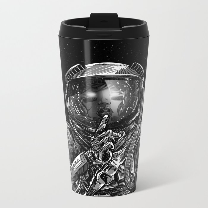 The Secrets of Space Metal Travel Mug