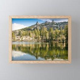 Kirkwood Lake, Eldorado National Forest, California Framed Mini Art Print