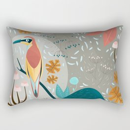 Fall in the forest Rectangular Pillow