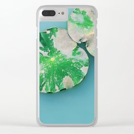 Zen Garden Lotus Clear iPhone Case