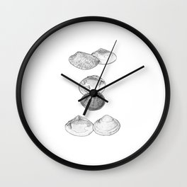 Bivalvia serie 1 Wall Clock