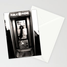 """""""I'm At A Payphone"""" Stationery Cards"""