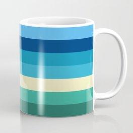 Abstract #409 Beach Colors Coffee Mug