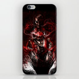 GOD and the Man Who Would Be GOD - Hannibal iPhone Skin