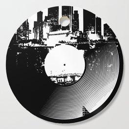 Urban Vinyl of Underground Music Cutting Board