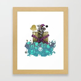 YESANDNO Framed Art Print