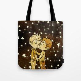 Love Golden Tote Bag