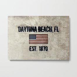 Daytona Beach, Florida Metal Print