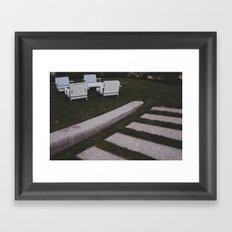 Backyard 2 Framed Art Print