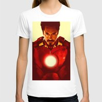 robert downey jr T-shirts featuring Iron Man *** by Hands in the Sky