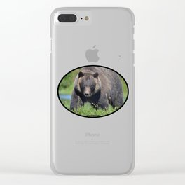 Brown Bear - Alaska Clear iPhone Case