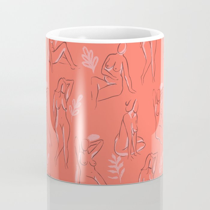 Coral Women Coffee Mug