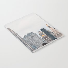 Empire State Building in grey Notebook