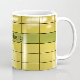 Berlin U-Bahn Memories - Lichtenberg Coffee Mug