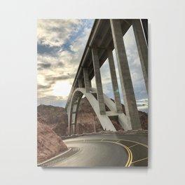 Arch bridge NV-AZ Metal Print