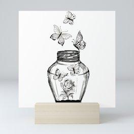 Schmetterlinge Mini Art Print