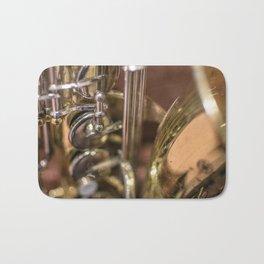 Saxophone detail Bath Mat