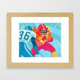 American Football Framed Art Print