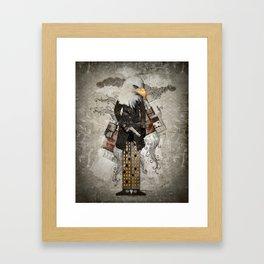 Secret Agent Eagle One Framed Art Print