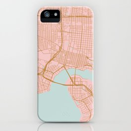 Jacksonville map, Florida iPhone Case