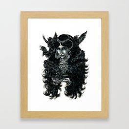 """""""Nine Blackbirds""""  Framed Art Print"""