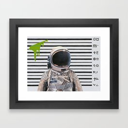 Mug Shot Framed Art Print