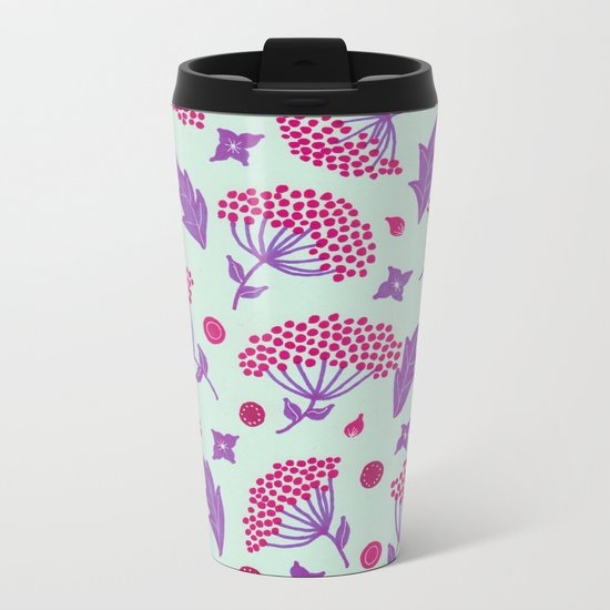Spring vibes VIII Metal Travel Mug