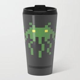Cthulhu Invader Metal Travel Mug