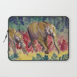 Chromatic Pachyderms Laptop Sleeve