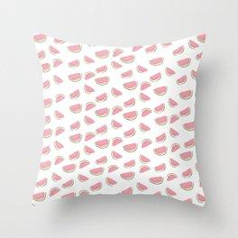 Watercolor Watermelon Throw Pillow
