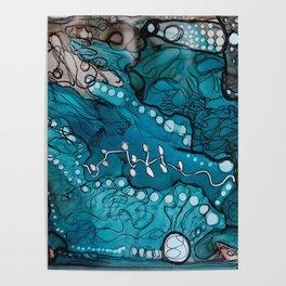 Jupiter Lineage Ink Botanical Poster