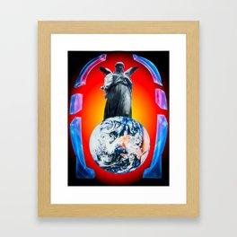 Heavenly appearance- Angel Framed Art Print