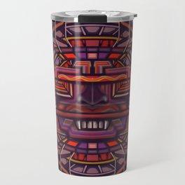 Collider mask Travel Mug