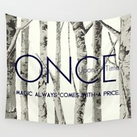 once upon a  time Wall Tapestries featuring Once Upon a Time (OUAT)  by Canis Picta
