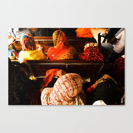 Kafia Canvas Print