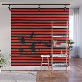 fly fly away || red addition Wall Mural