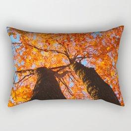 Flaming trees Rectangular Pillow