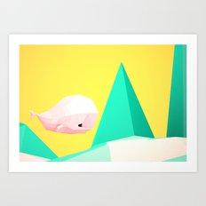 {W} Art Print