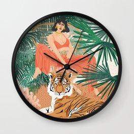 Tiger Leader Wall Clock