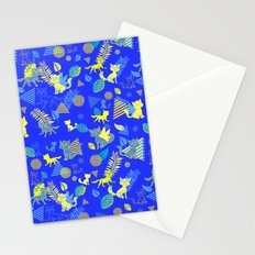 Raining Cats Stationery Cards