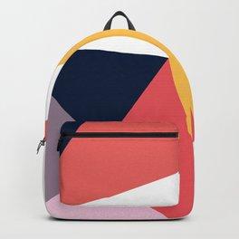 Modern Poetic Geometry Backpack