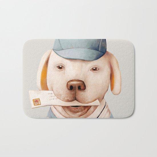 Delivery Dog Bath Mat